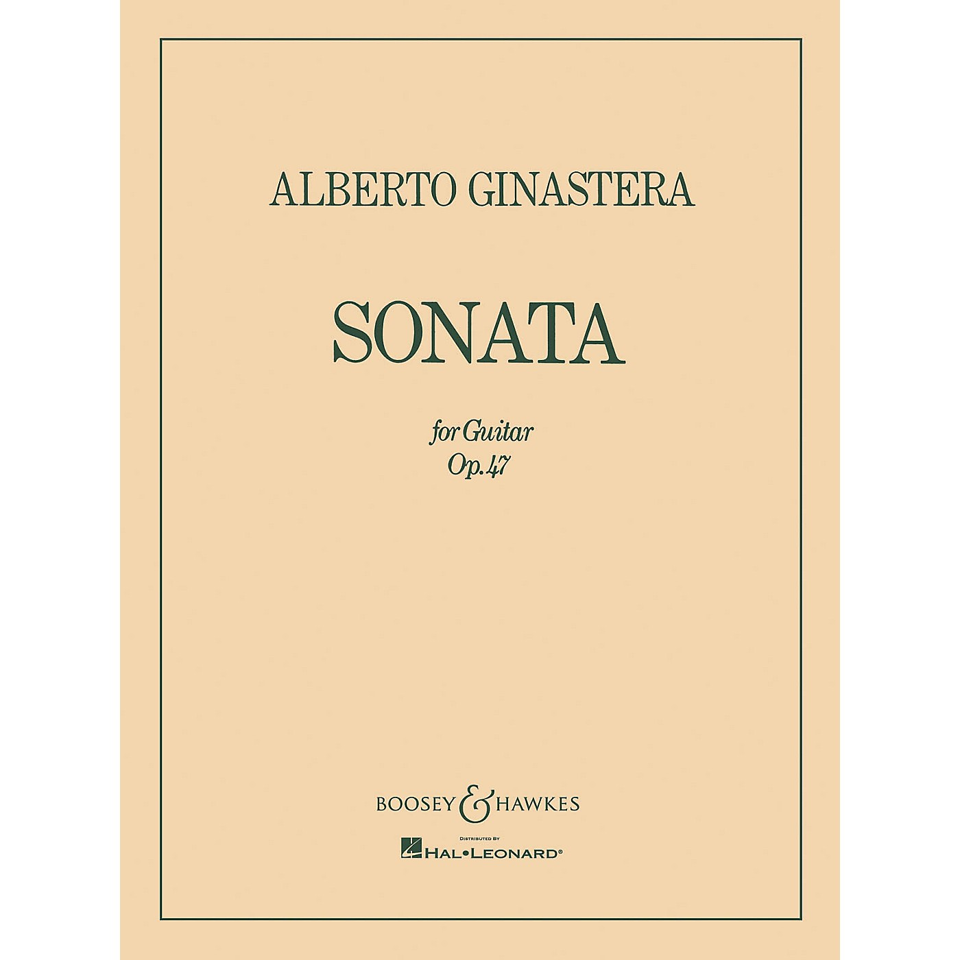 Boosey and Hawkes Sonata for Guitar, Op. 47 (Guitar Solo) Boosey & Hawkes Chamber Music Series thumbnail