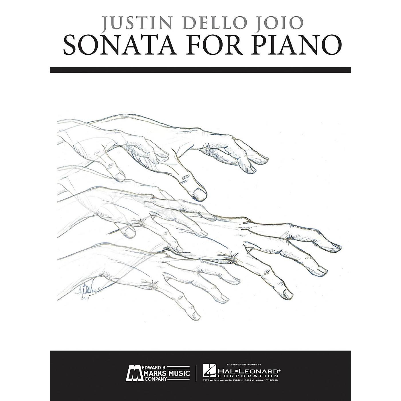 Edward B. Marks Music Company Sonata for Piano E.B. Marks Series Softcover Composed by Justin Dello Joio thumbnail