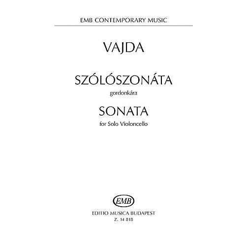 Editio Musica Budapest Sonata for Solo Violoncello EMB Series Softcover thumbnail