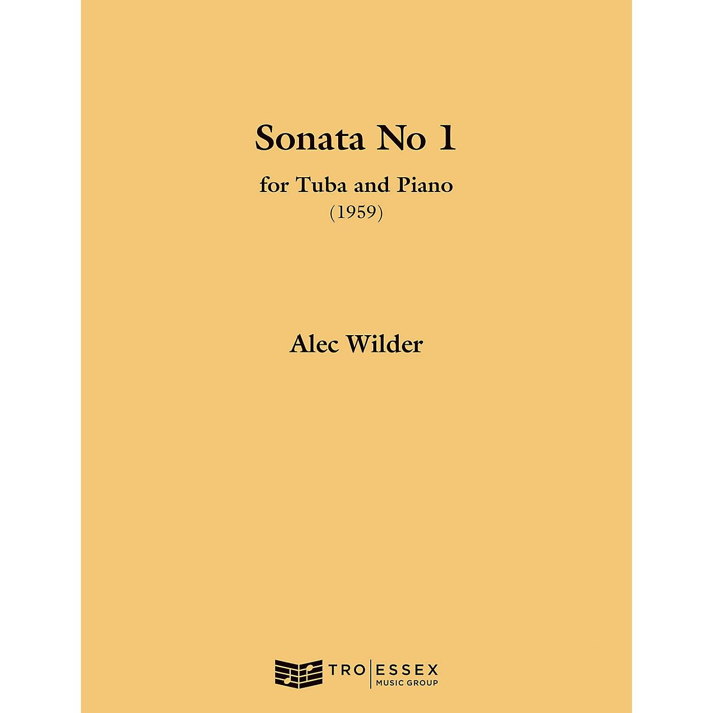TRO ESSEX Music Group Sonata for Tuba and Piano (1959) (Tuba (B.C.)) Richmond Music ¯ Instrumental Series by Alec Wilder thumbnail