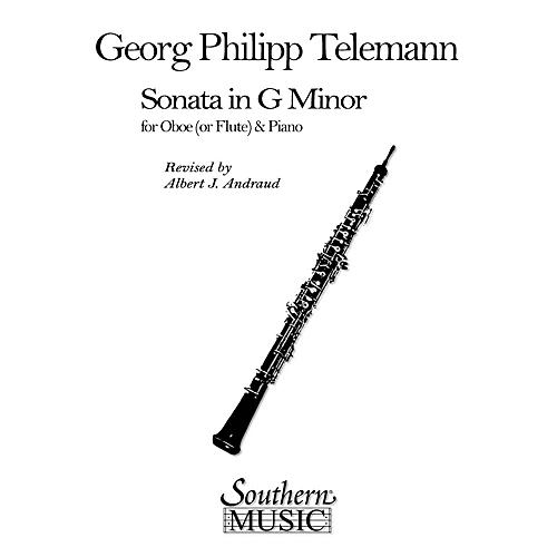 Southern Sonata in G Min (Oboe) Southern Music Series Arranged by Albert Andraud thumbnail