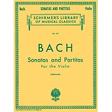 G. Schirmer Sonatas And Partitas Violin Unaccompanied By Bach