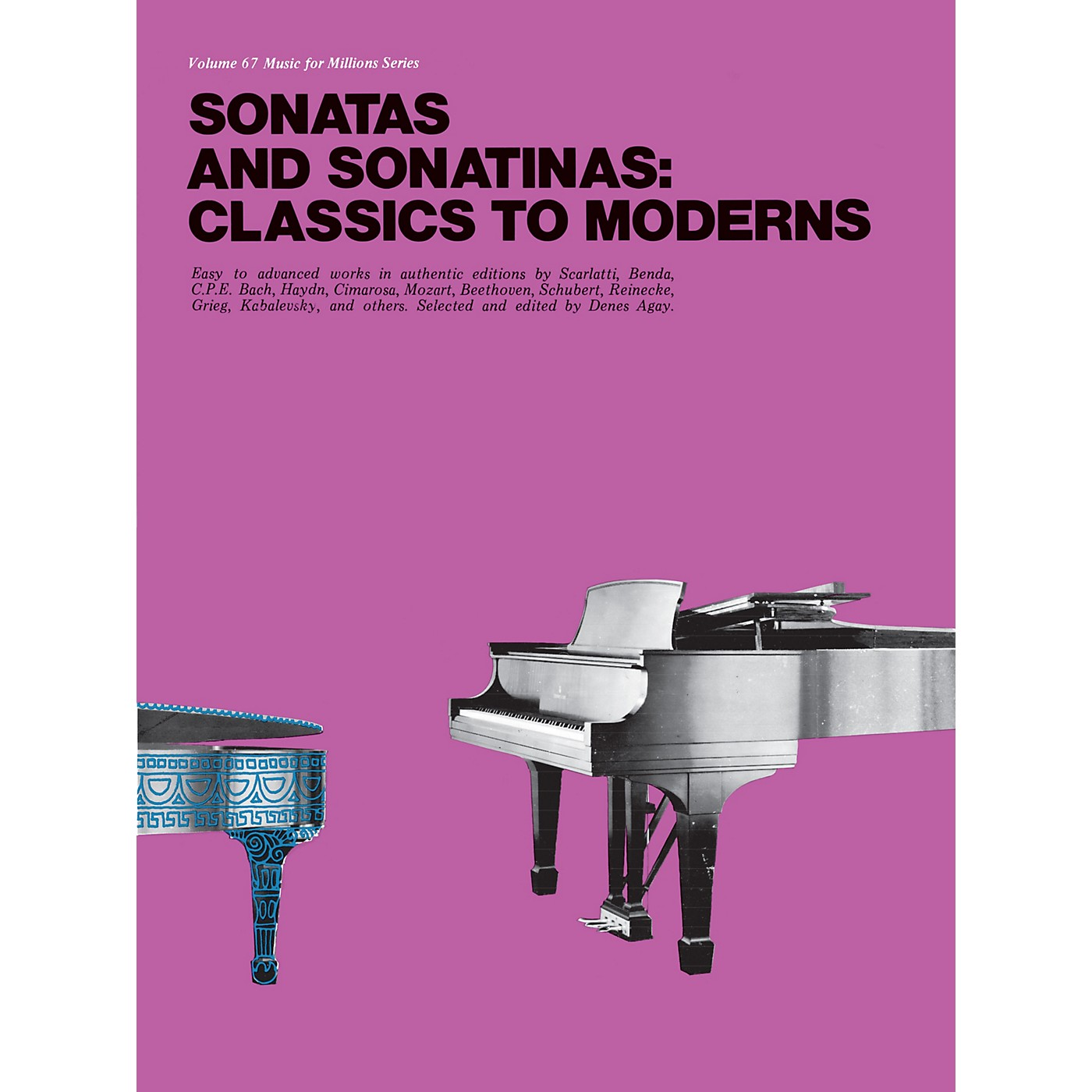 Music Sales Sonatas and Sonatinas: Classics to Moderns Music Sales America Series Softcover thumbnail