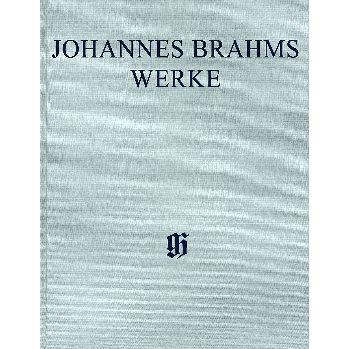G. Henle Verlag Sonatas for Pa and Violoncello/Sonatas for Cl and Piano Henle Complete Hardcover by Brahms Edited by Voss thumbnail