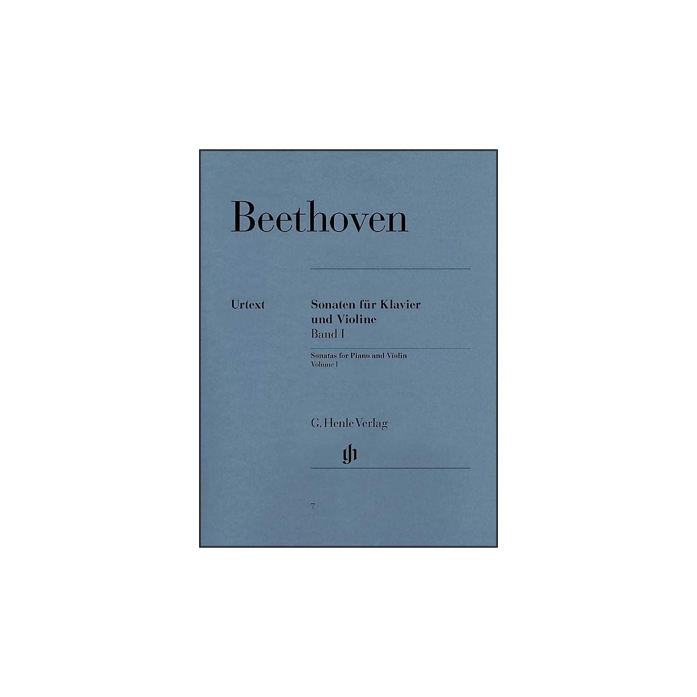 G. Henle Verlag Sonatas for Piano And Violin Volume I By Beethoven thumbnail