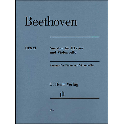 G. Henle Verlag Sonatas for Piano And Violoncello By Beethoven thumbnail