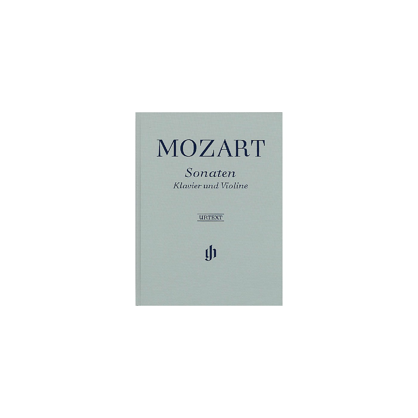 G. Henle Verlag Sonatas for Piano and Violin - Volumes I-III Henle Music Folios Series Hardcover thumbnail
