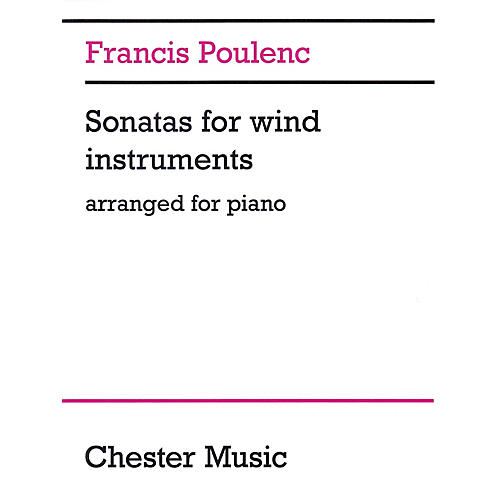 Chester Music Sonatas for Wind Instruments Music Sales America Series Softcover thumbnail