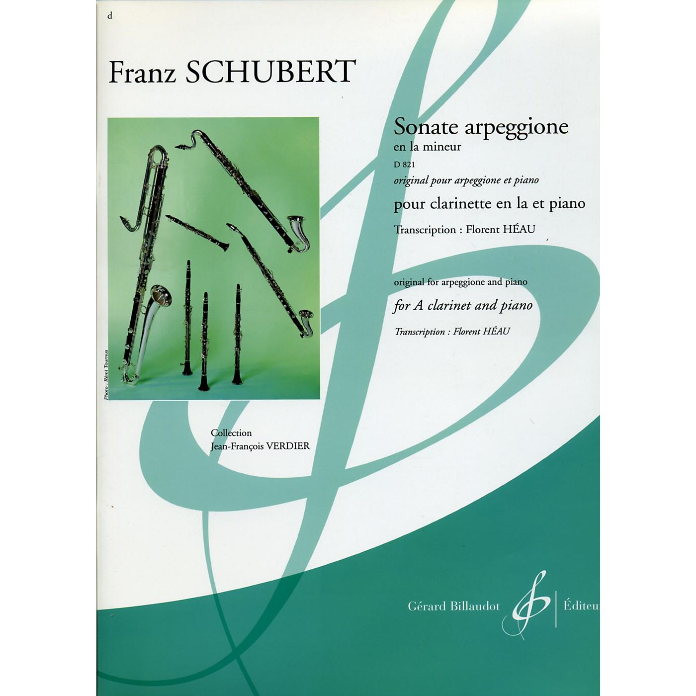 Theodore Presser Sonate Arpeggione En La Mineur D 821 thumbnail
