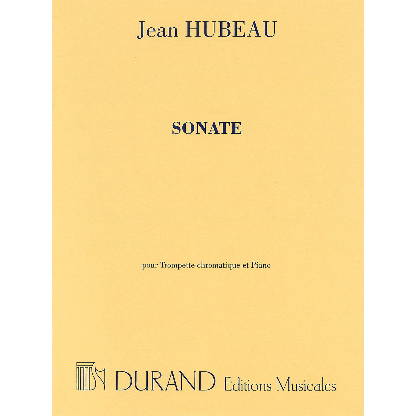 Editions Durand Sonate for C Trumpet and Piano Editions Durand Series thumbnail
