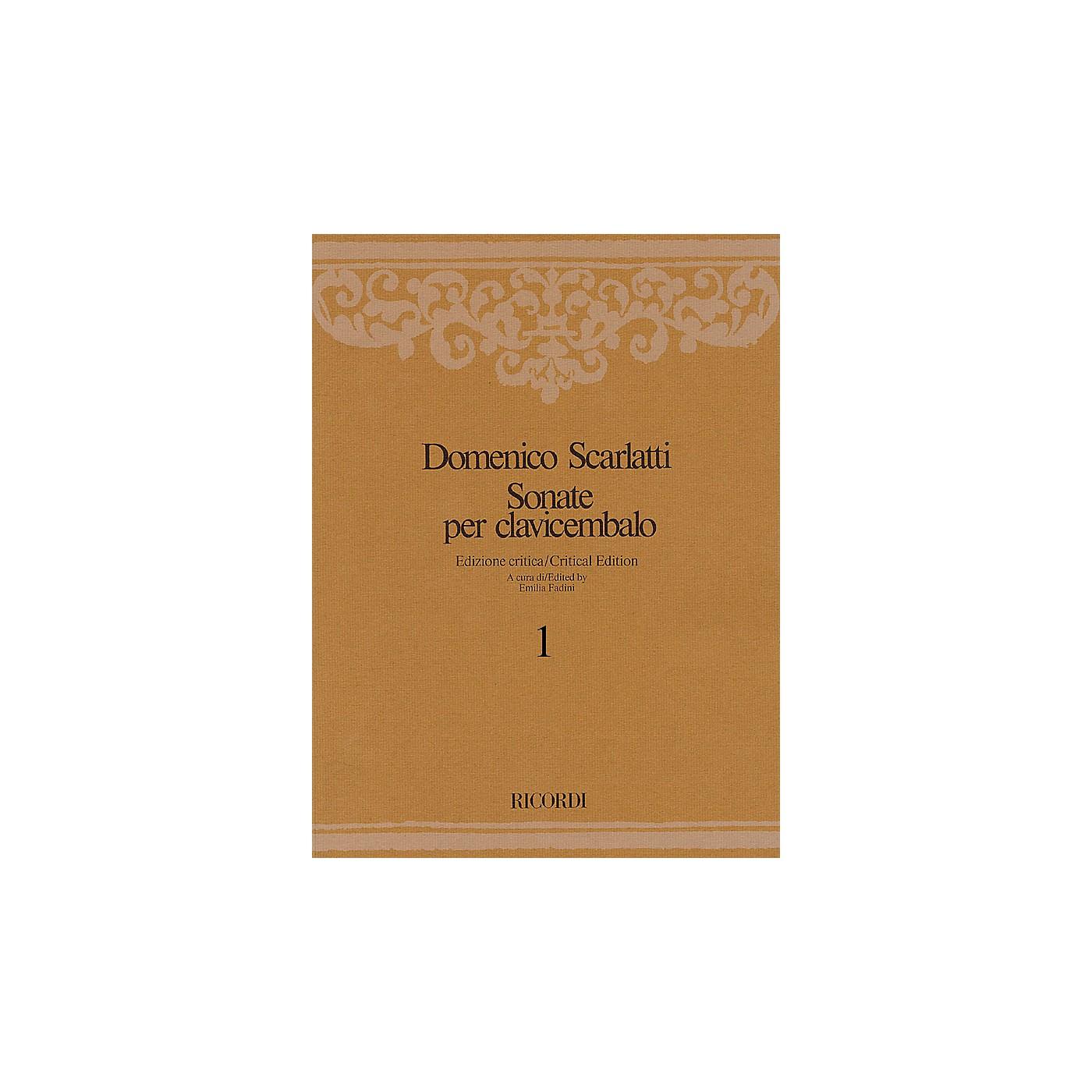 Ricordi Sonate per Clavicembalo Volume 2 Critical Edition Piano Collection by Scarlatti Edited by Emilia Fadini thumbnail