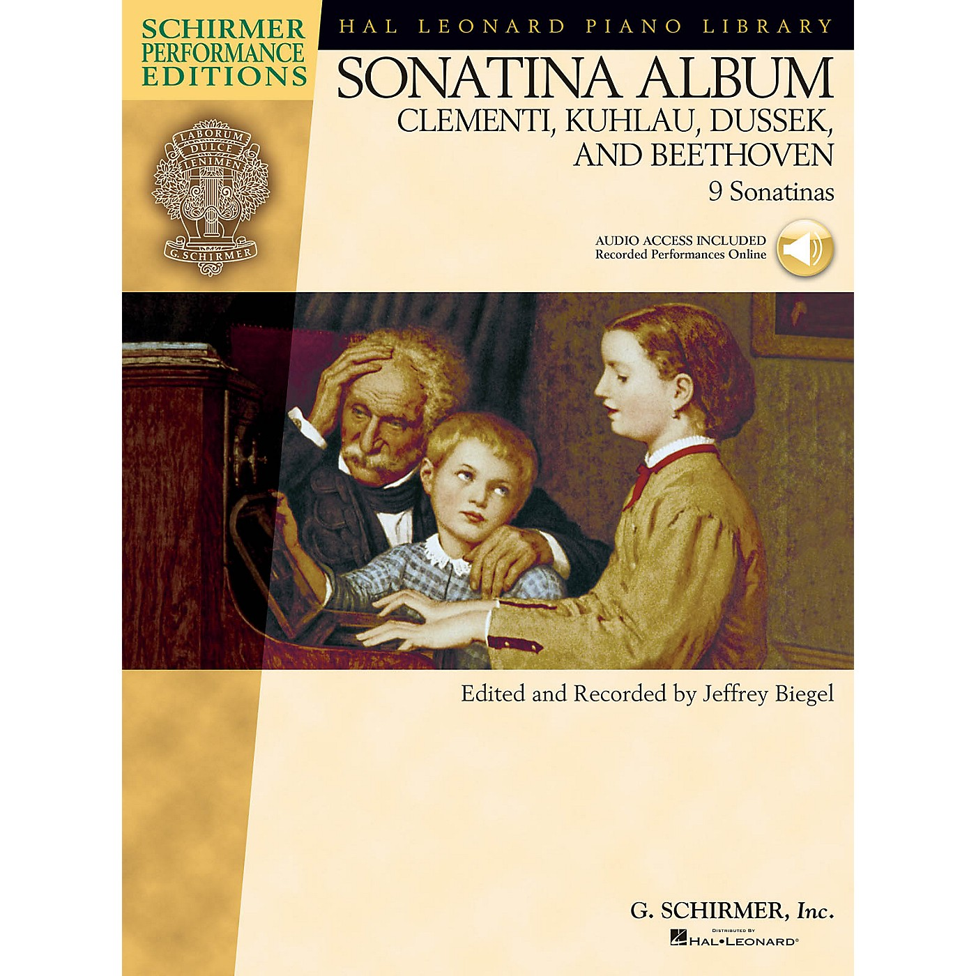 G. Schirmer Sonatina Album Schirmer Performance Editions Series Softcover Audio Online Composed by Various thumbnail