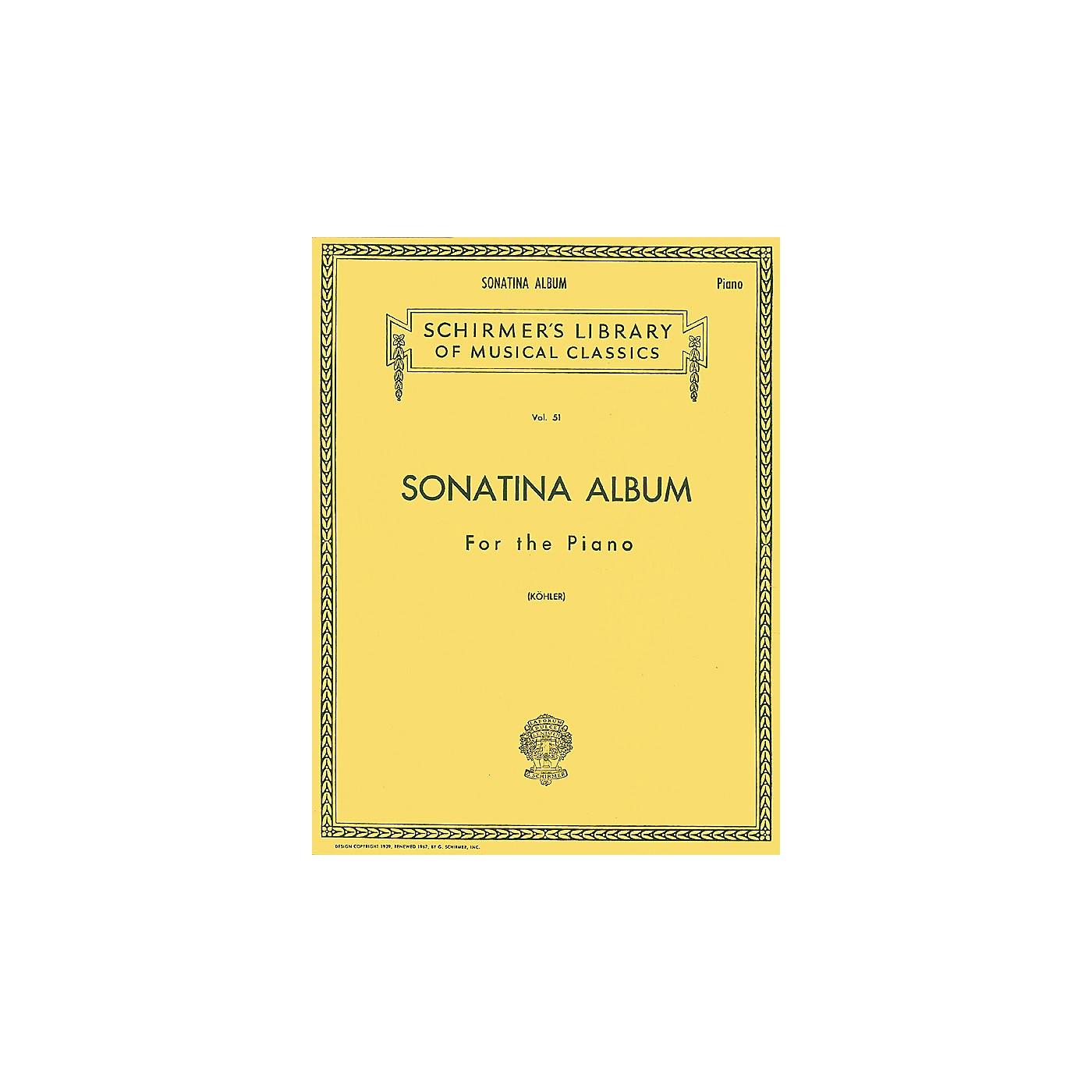 G. Schirmer Sonatina Album thumbnail