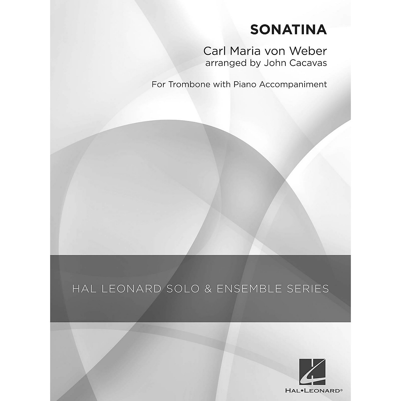 Hal Leonard Sonatina (Grade 3 Trombone Solo) Concert Band Level 3 Arranged by John Cacavas thumbnail