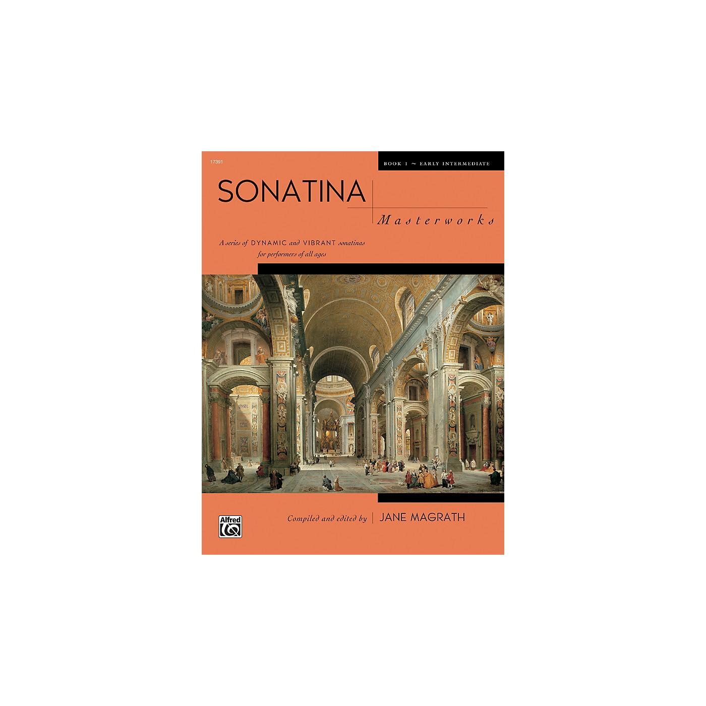 Alfred Sonatina Masterworks Piano Book 1 thumbnail
