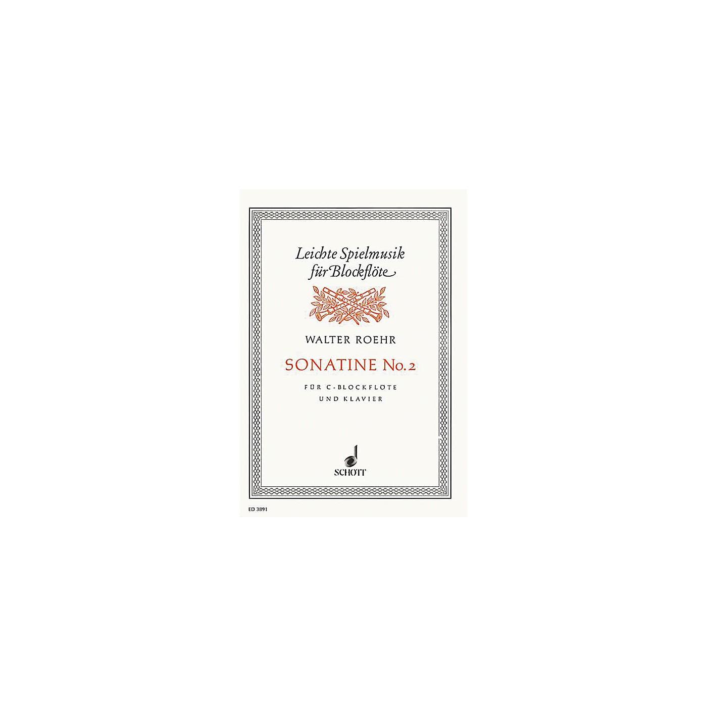 Schott Sonatina Schott Series by Walter Roehr thumbnail
