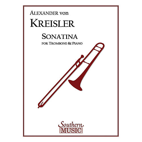 Southern Sonatina (Trombone) Southern Music Series Composed by Alexander von Kreisler thumbnail