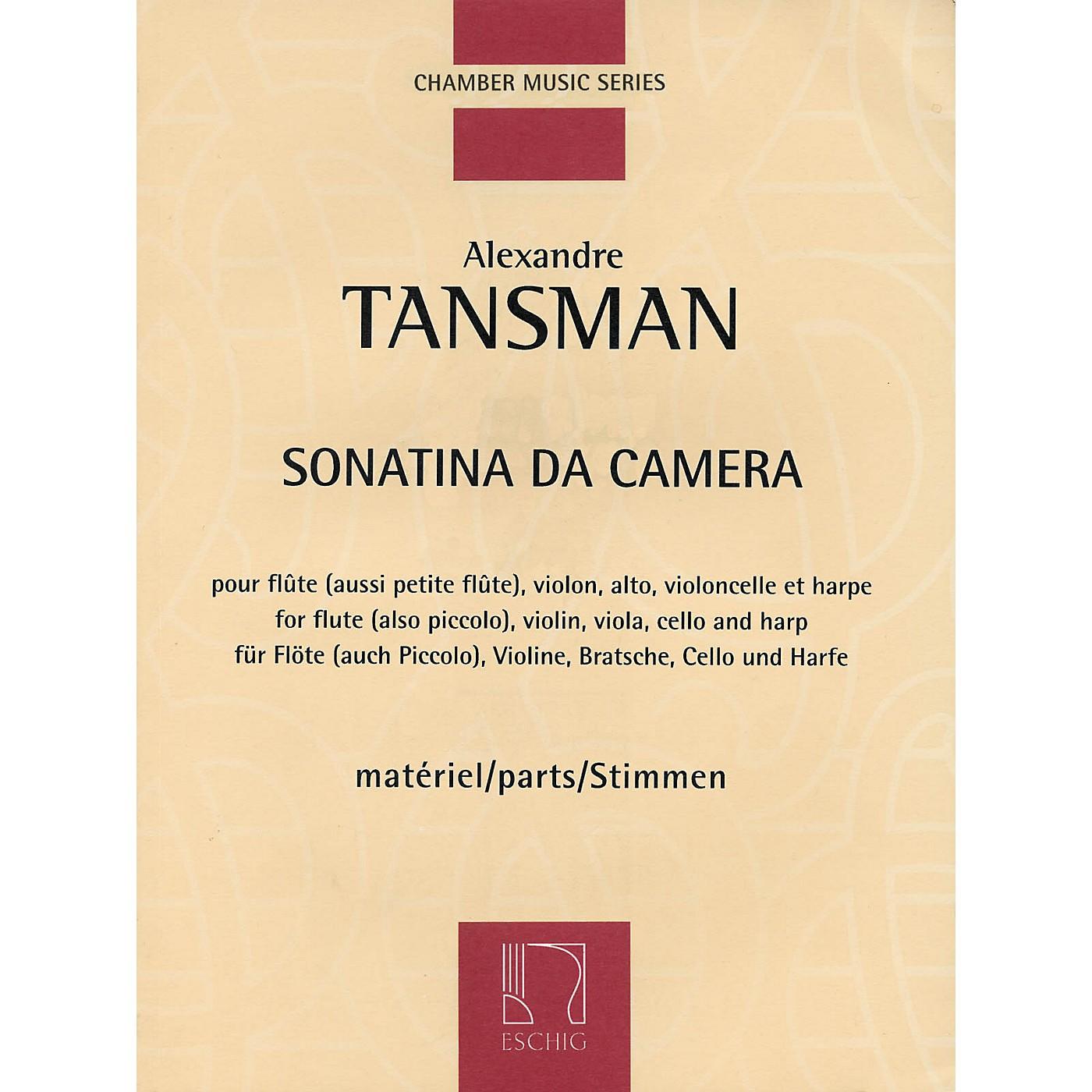Max Eschig Sonatina da camera (Parts) Editions Durand Series Composed by Alexandre Tansman thumbnail