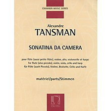Max Eschig Sonatina da camera (Parts) Editions Durand Series Composed by Alexandre Tansman