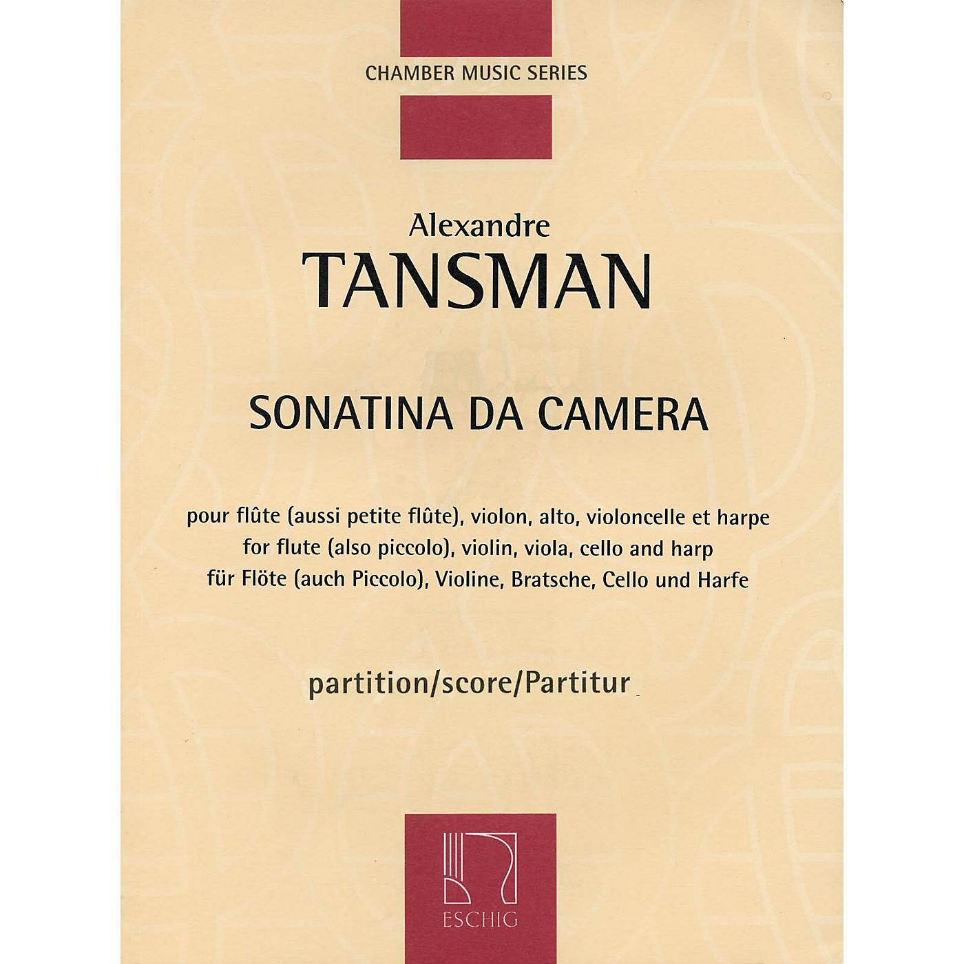 Max Eschig Sonatina da camera (Score) Editions Durand Series Composed by Alexandre Tansman thumbnail