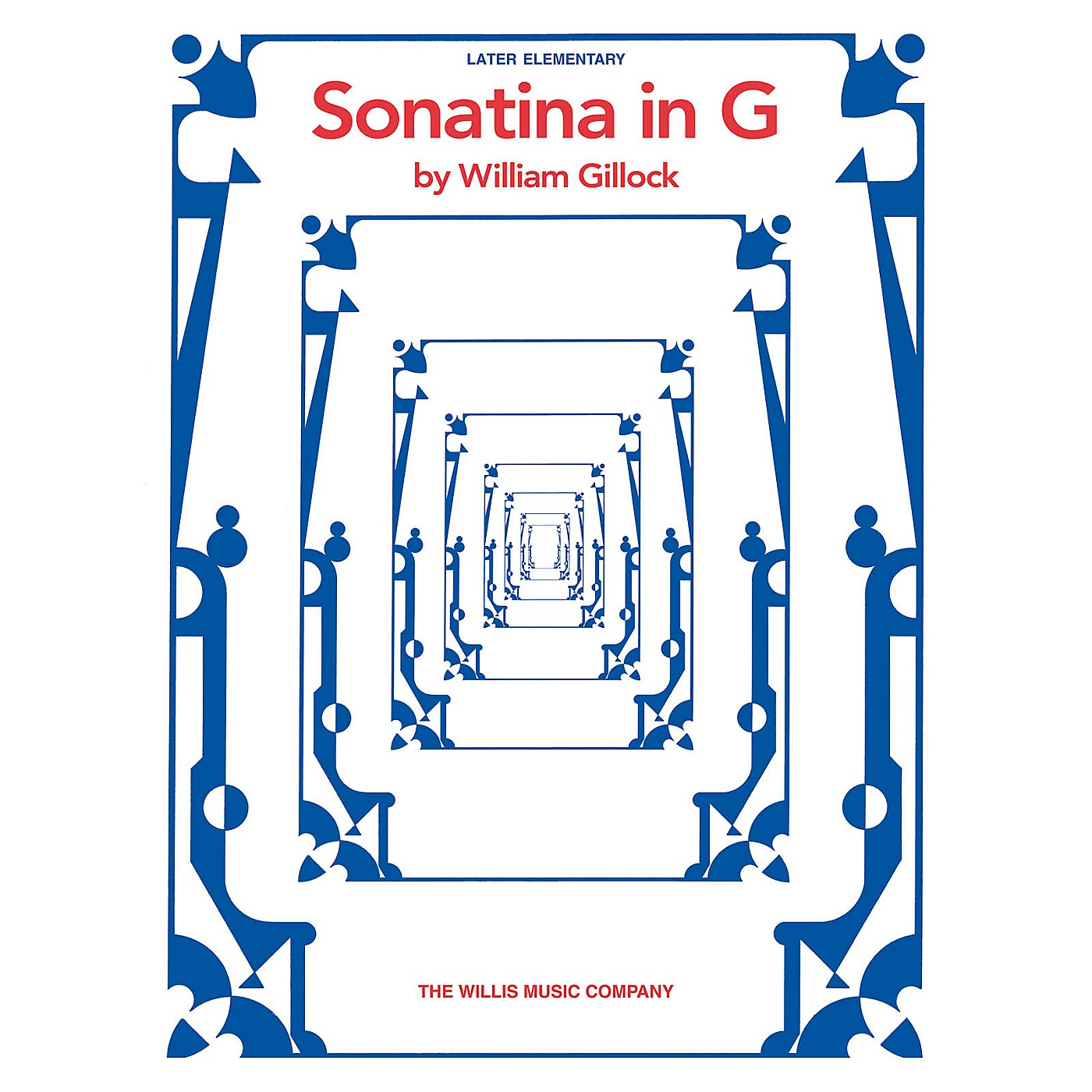 Willis Music Sonatina in G (Later Elem Level) Willis Series by William Gillock thumbnail
