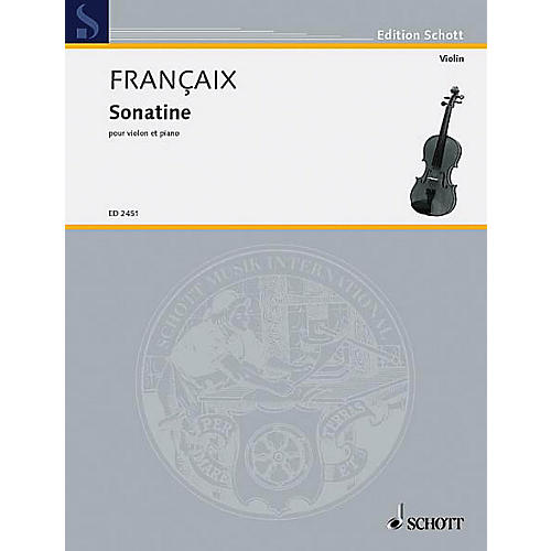 Schott Sonatine Violin/piano Schott Series thumbnail