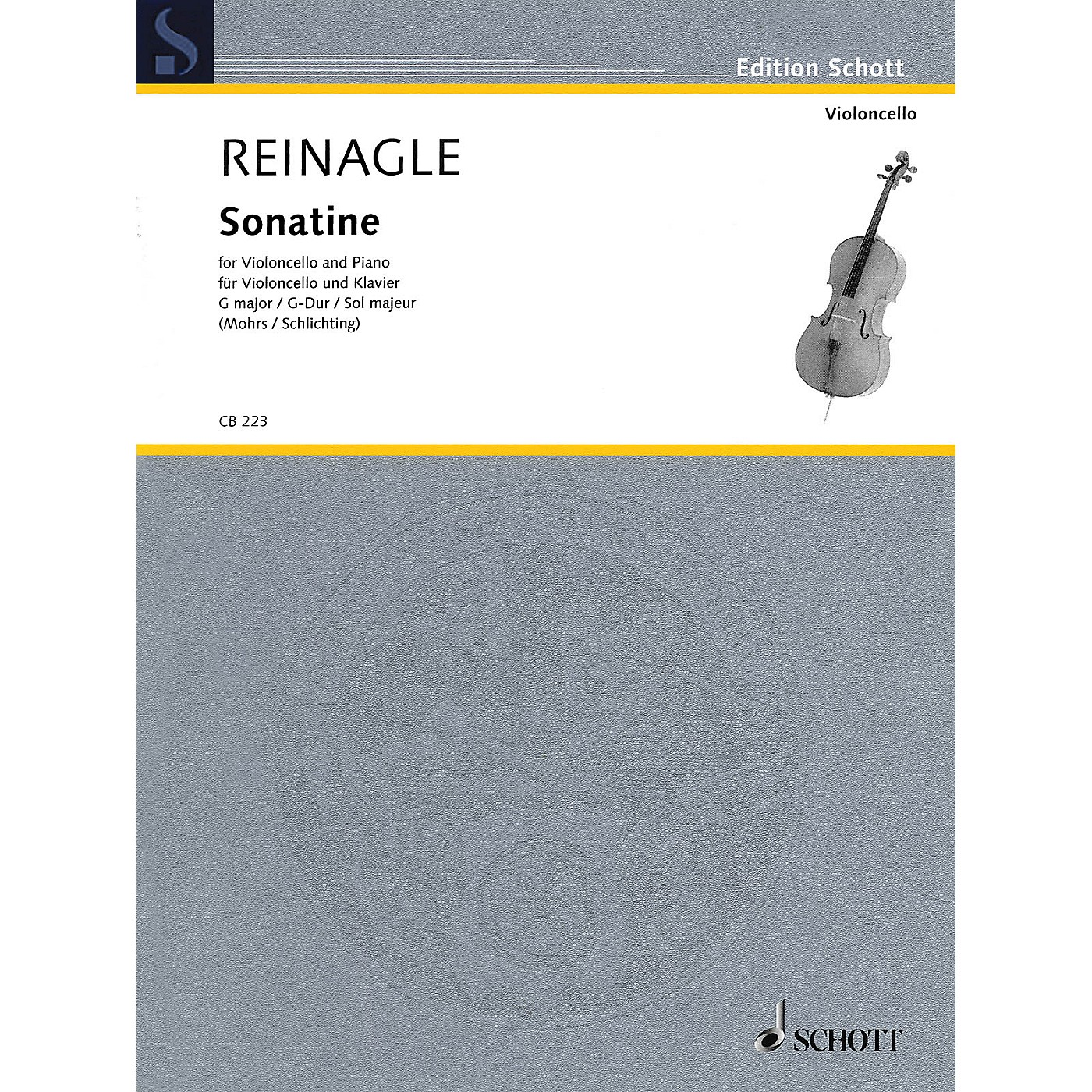 Schott Sonatine (Violoncello and Piano) String Series Softcover thumbnail