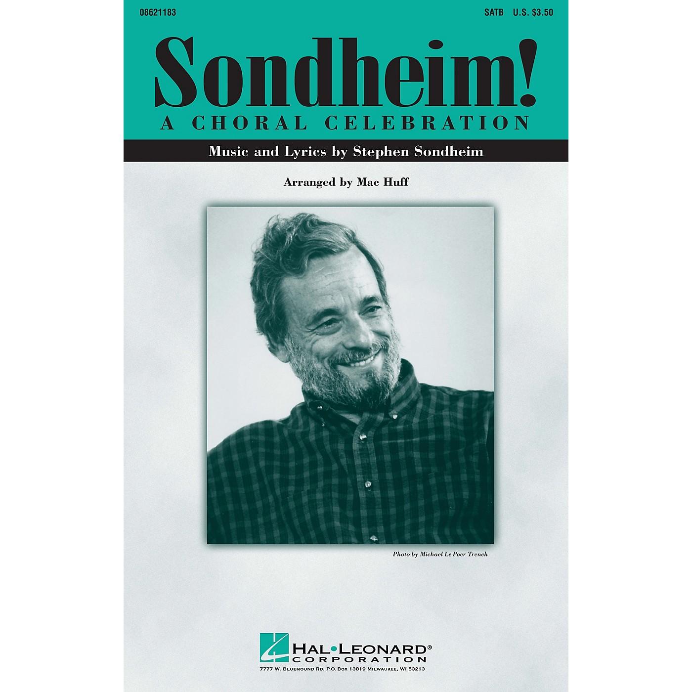 Hal Leonard Sondheim! A Choral Celebration (Medley) SATB arranged by Mac Huff thumbnail