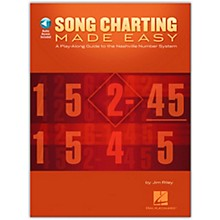 Hal Leonard Song Charting Made Easy - Guide To The Nashville Number System Play-Along (Book/Online Audio)