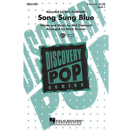 Hal Leonard Song Sung Blue VoiceTrax CD by Neil Diamond Arranged by Mark Brymer thumbnail