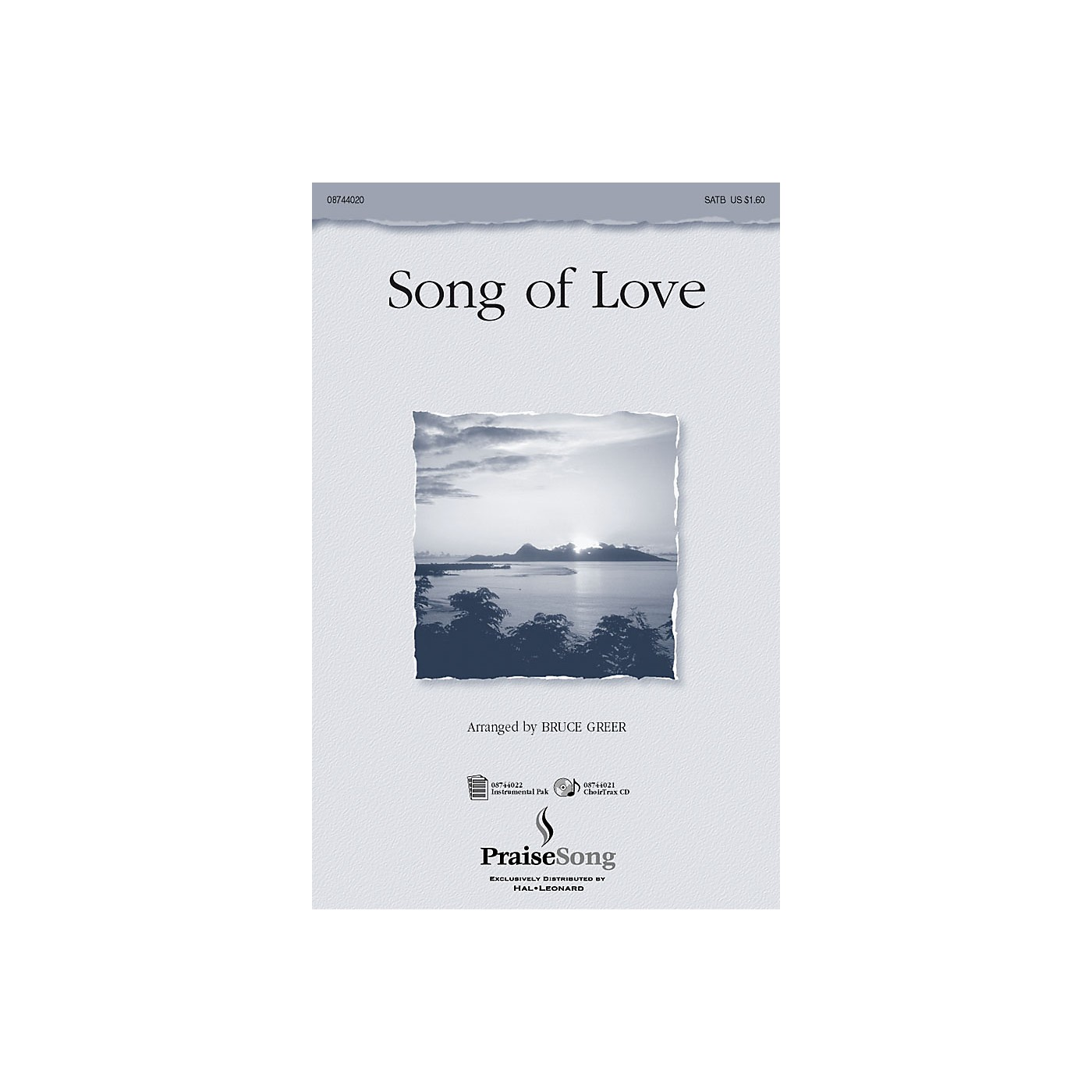 PraiseSong Song of Love SATB arranged by Bruce Greer thumbnail
