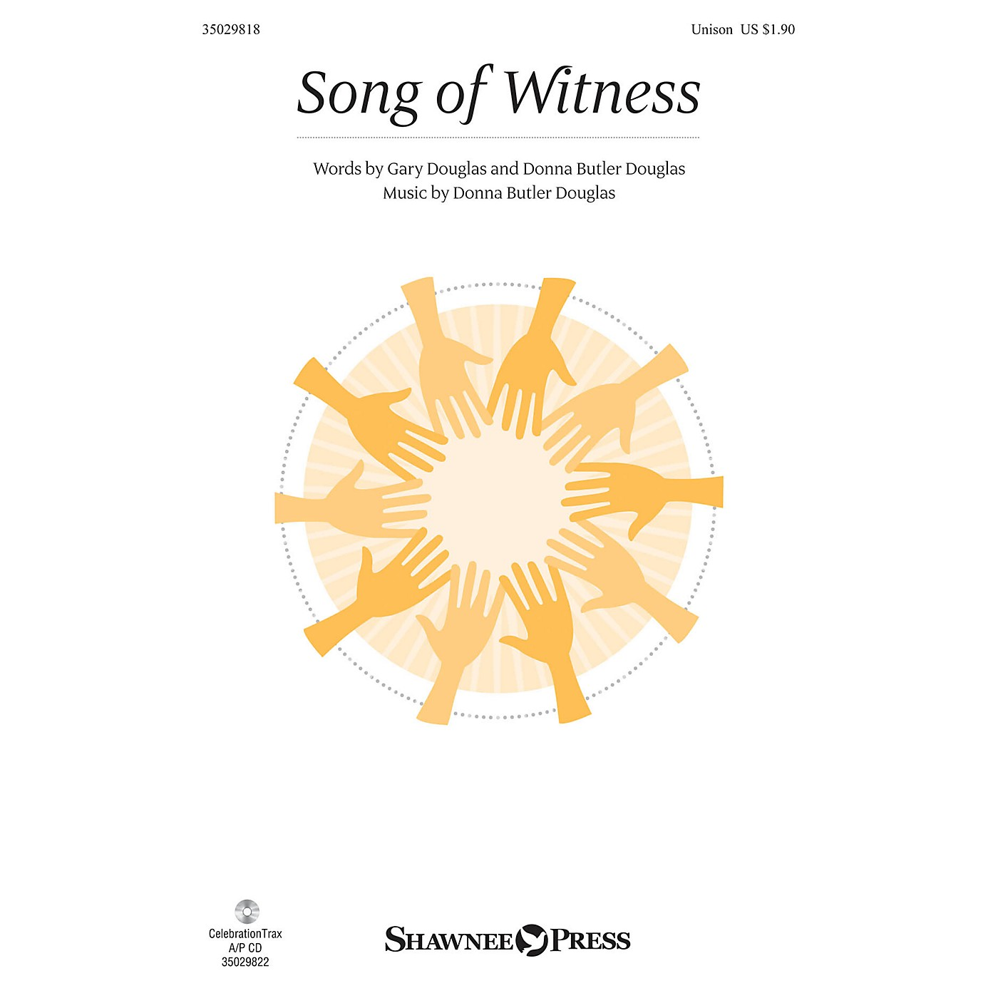 Shawnee Press Song of Witness UNIS composed by Donna Butler Douglas thumbnail