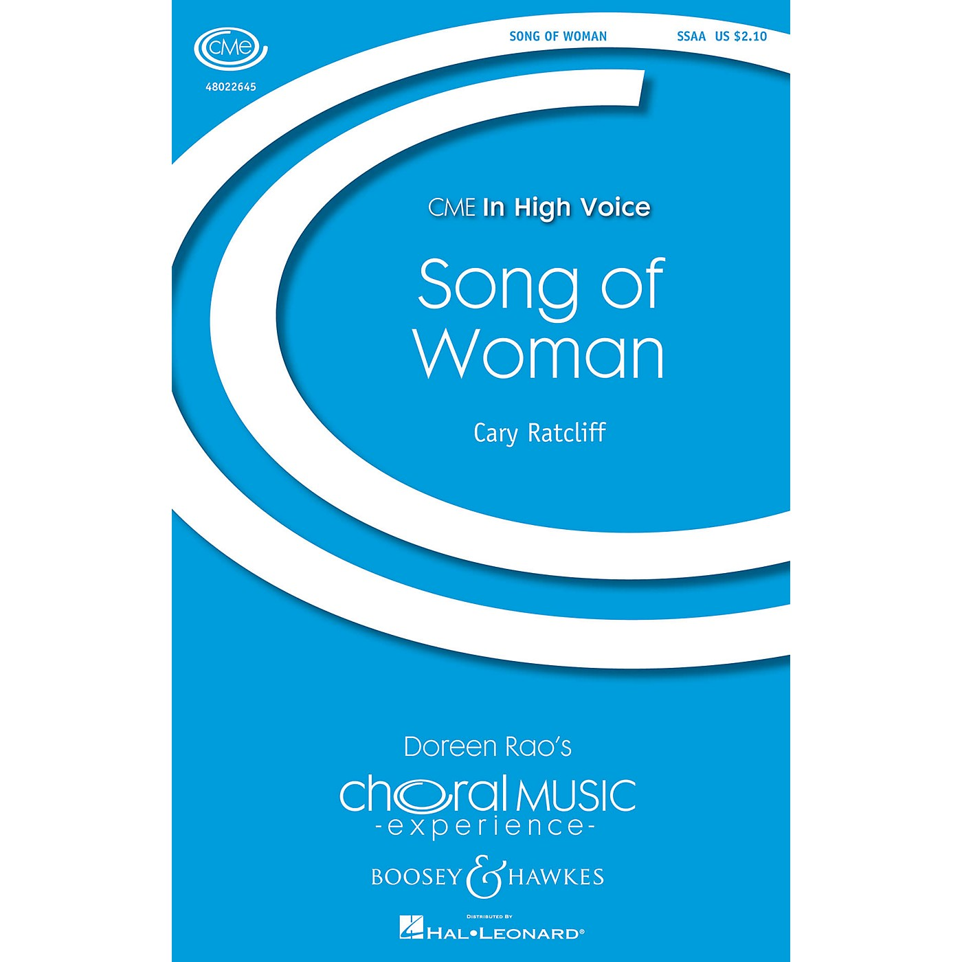 Boosey and Hawkes Song of Woman (CME In High Voice) SSAA composed by Cary Ratcliff thumbnail