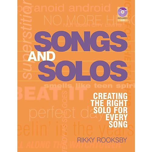 Hal Leonard Songs And Solos: Creating The Right Solo For Every Song thumbnail