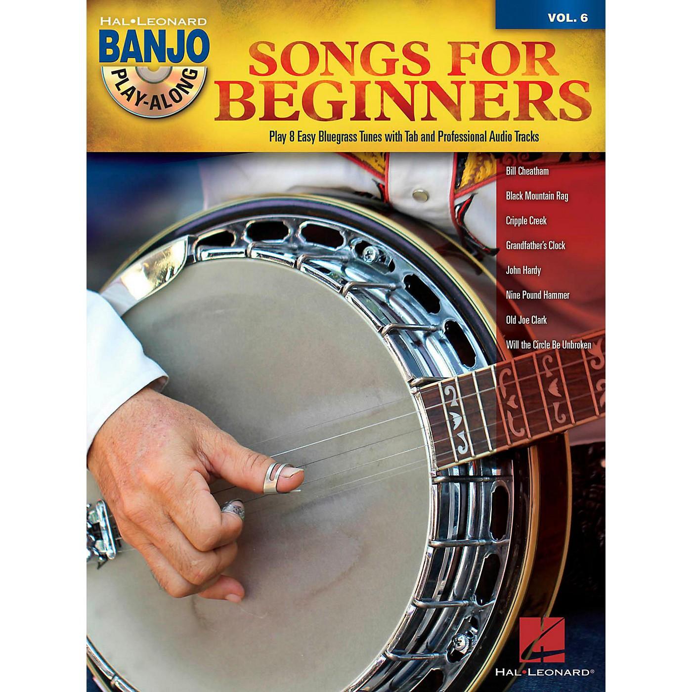 Hal Leonard Songs For Beginners - Banjo Play-Along Vol. 6 Book/CD thumbnail