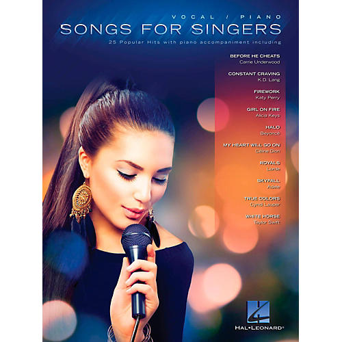 Hal Leonard Songs For Singers - 25 Popular Hits With Piano Accompaniment thumbnail