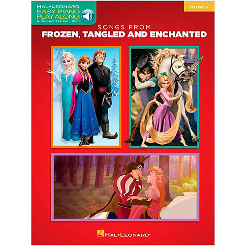 Hal Leonard Songs From Frozen, Tangled and Enchanted - Easy Piano CD Play-Along Volume 32 Book/Online Audio thumbnail