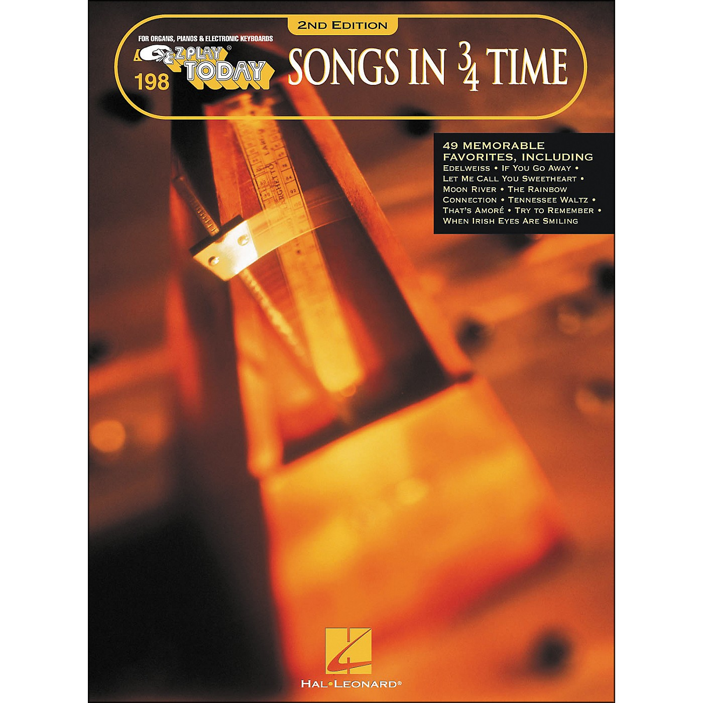 Hal Leonard Songs In 3/4 Time 2nd Edition E-Z Play 198 thumbnail