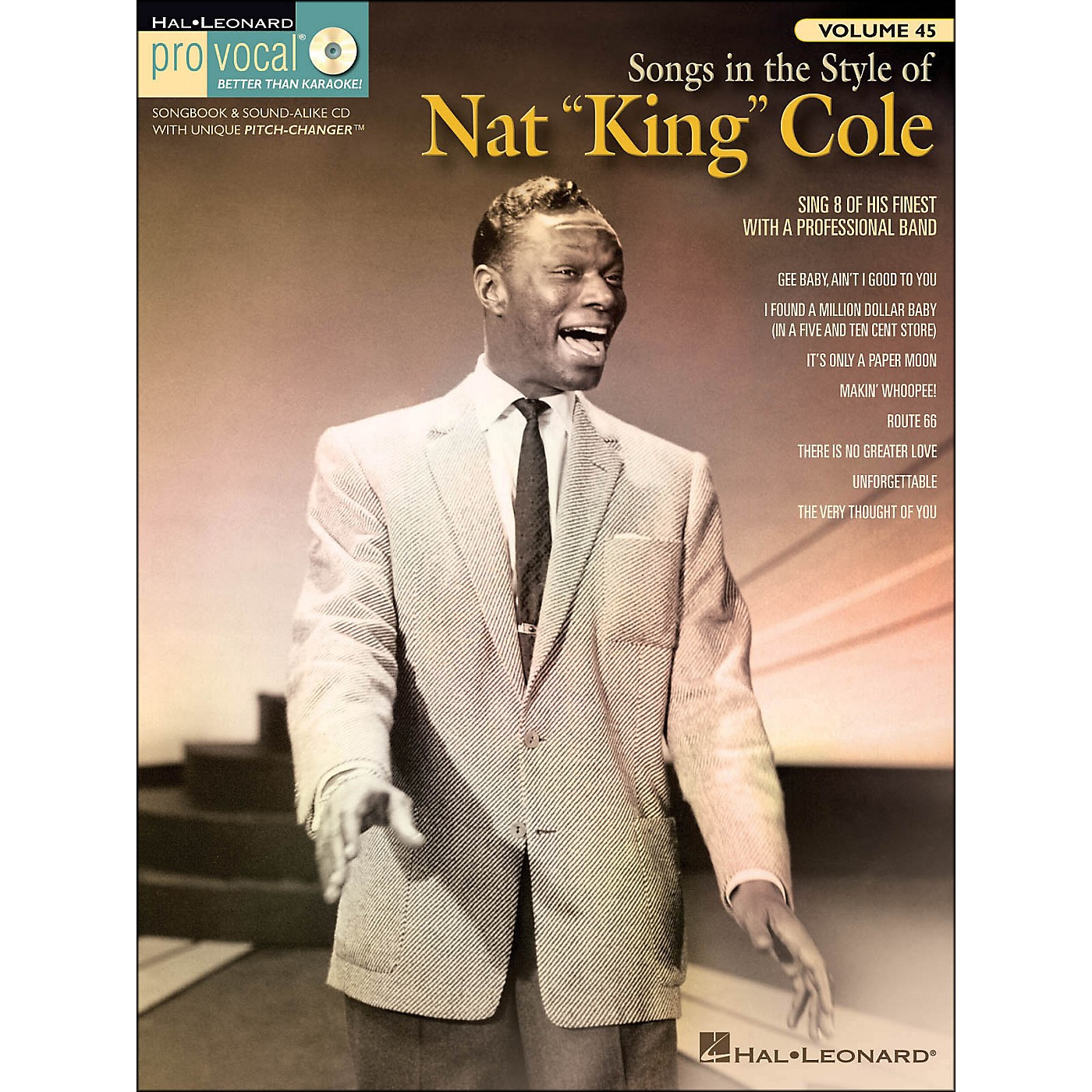 Hal Leonard Songs In The Style Of Nat