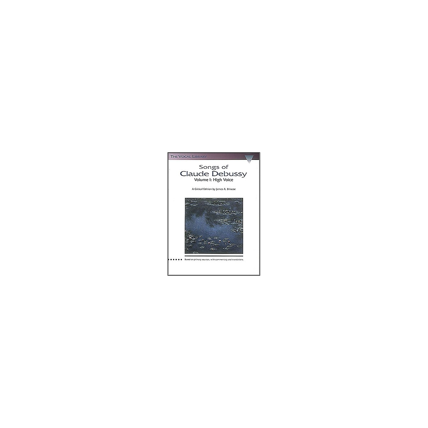 Hal Leonard Songs Of Claude Debussy Volume 1 for High Voice thumbnail