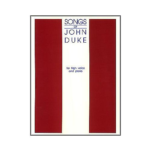G. Schirmer Songs Of John Duke for High Voice thumbnail