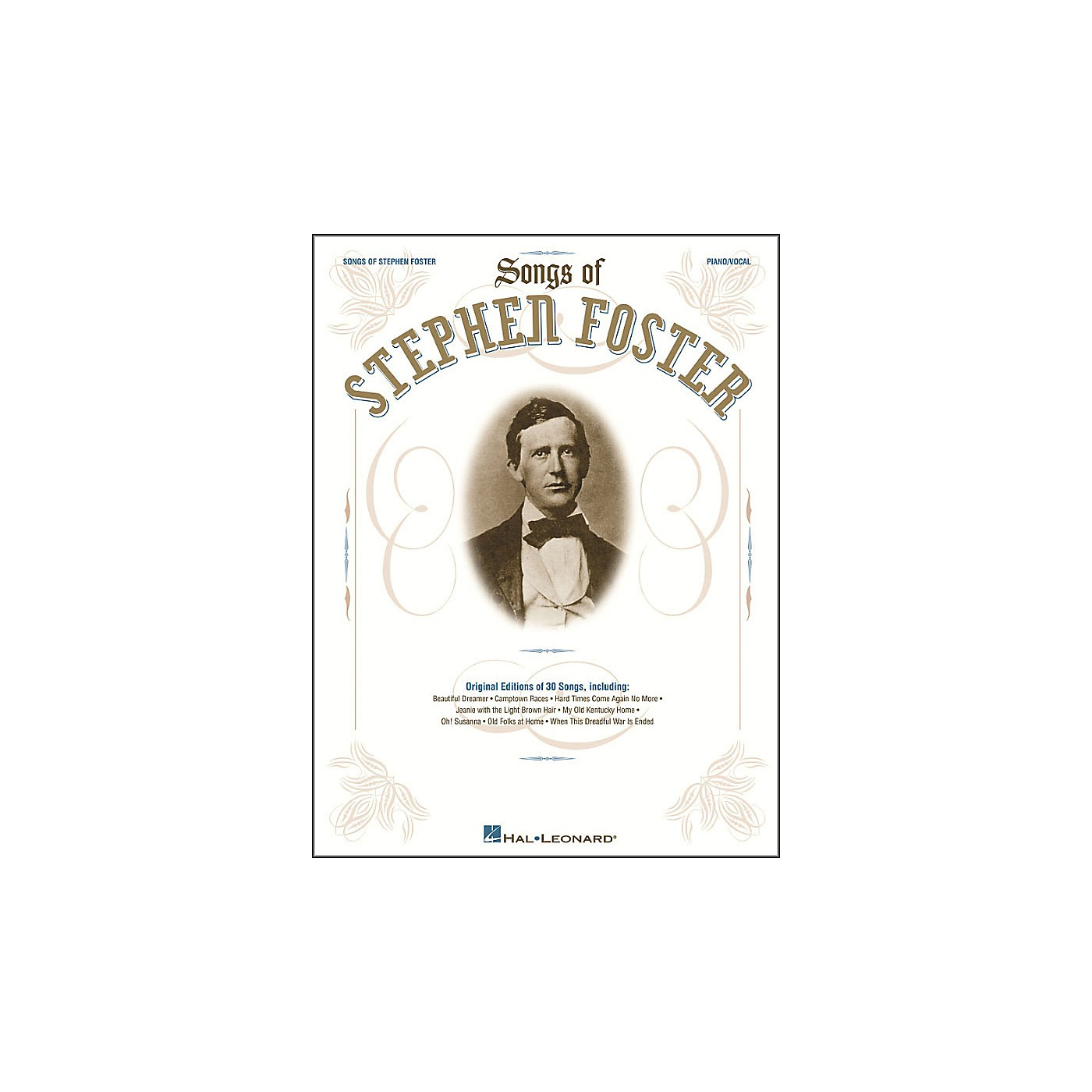 Hal Leonard Songs Of Stephen Foster arranged for piano, vocal, and guitar (P/V/G) thumbnail