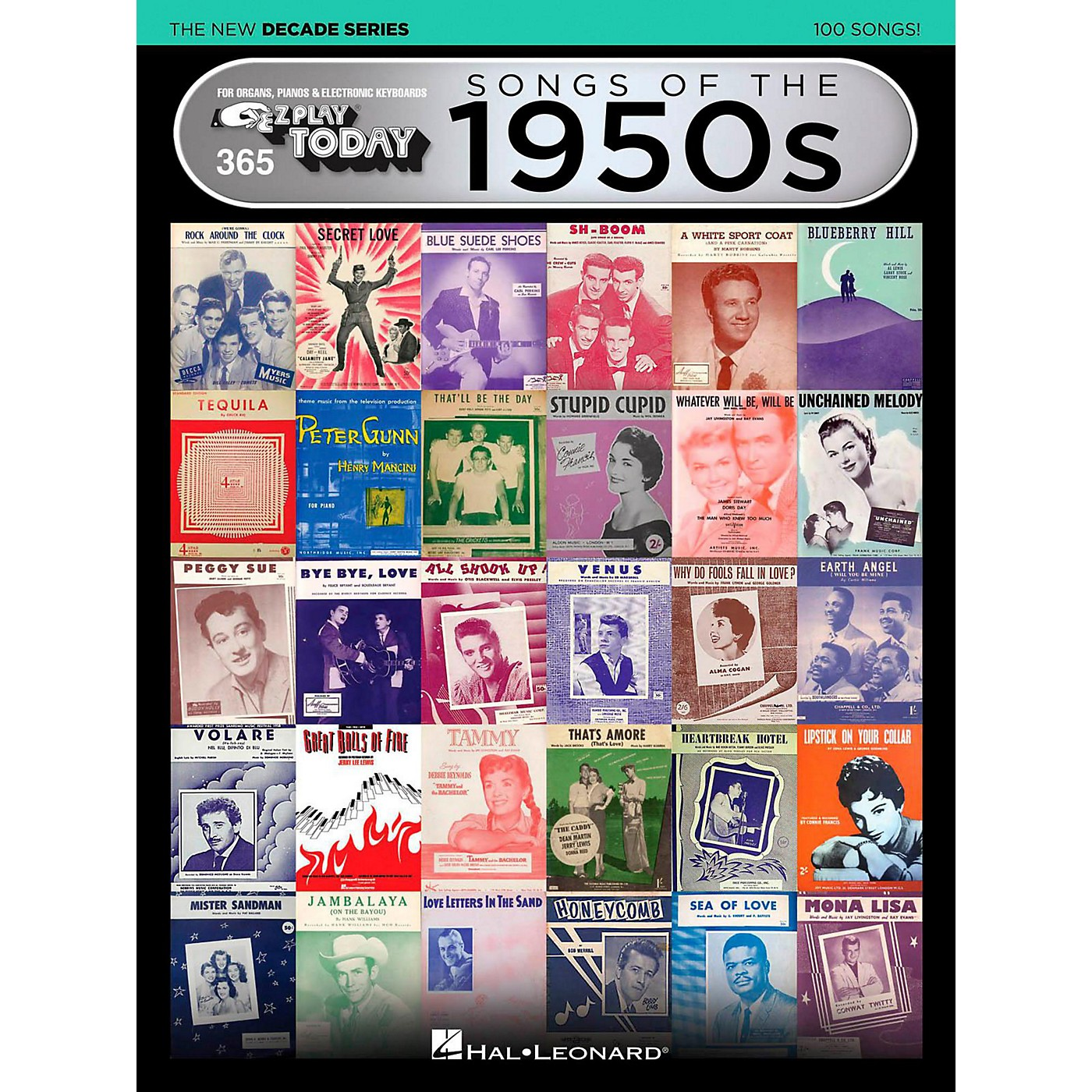 Hal Leonard Songs Of The 1950s - The New Decade Series E-Z Play Today Volume 365 thumbnail