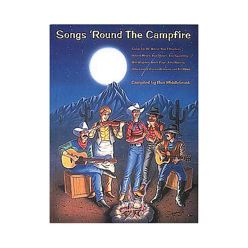 Centerstream Publishing Songs 'Round The Campfire Guitar Tab Songbook thumbnail