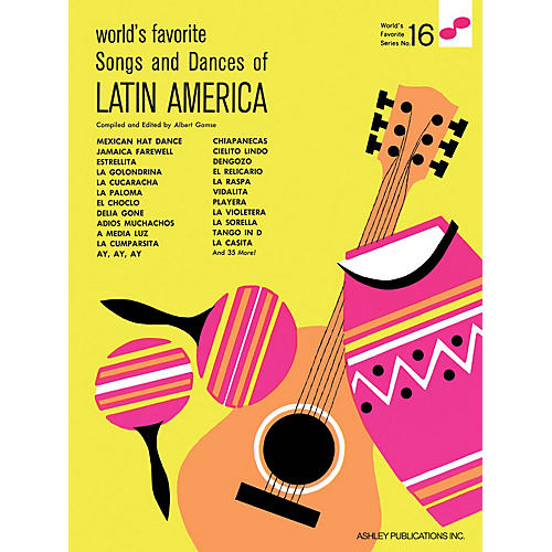 Ashley Publications Inc. Songs and Dances of Latin America World's Favorite (Ashley) Series thumbnail
