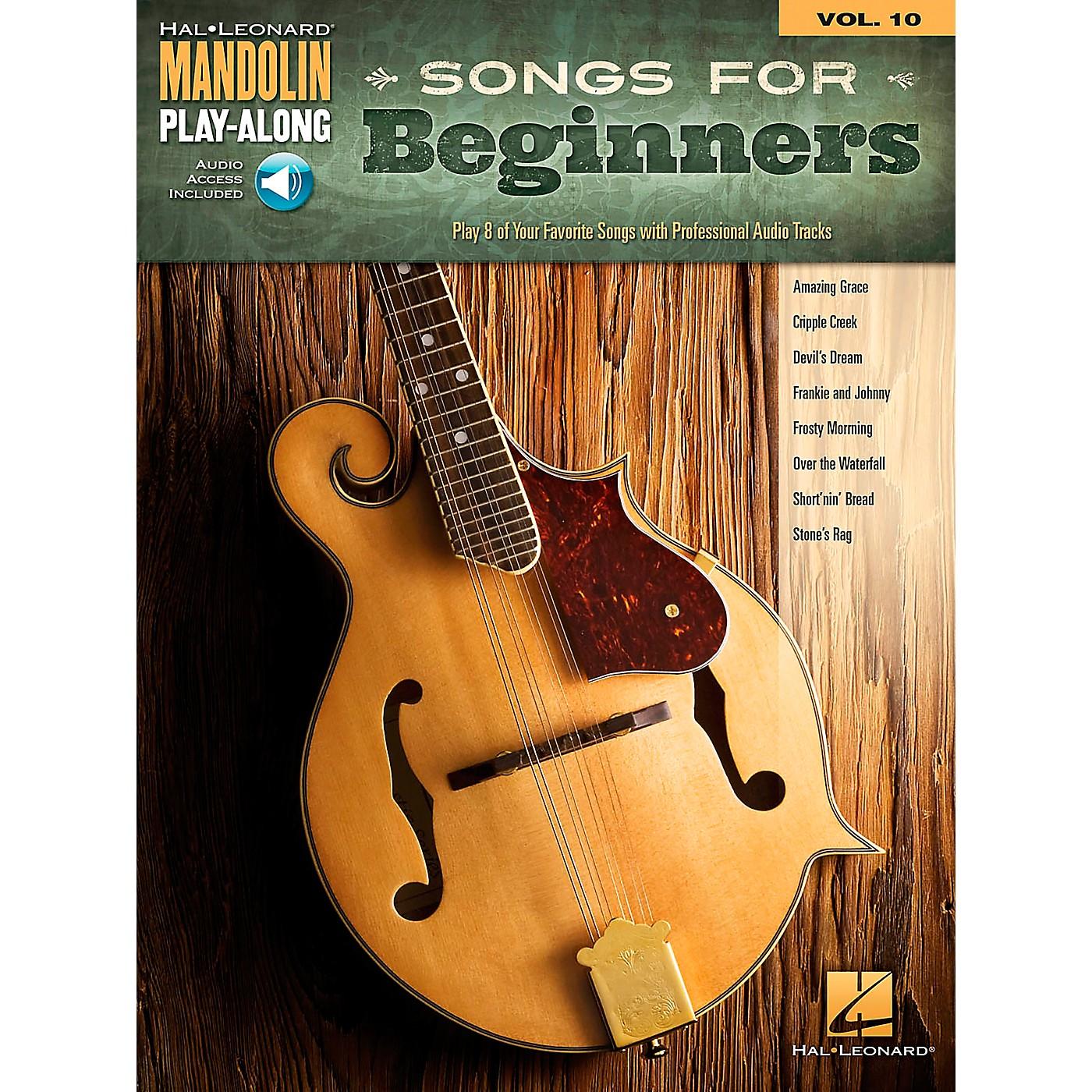 Hal Leonard Songs for Beginners - Mandolin Play-Along Vol. 10 thumbnail