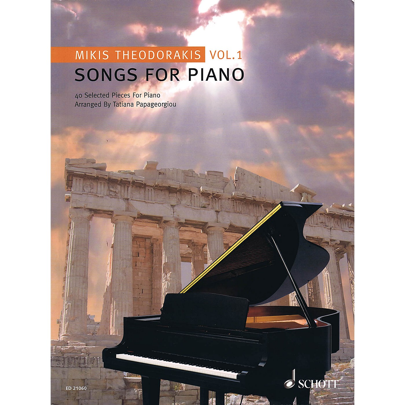 Schott Songs for Piano - Volume 1 (40 Selected Pieces) Schott Series Softcover thumbnail
