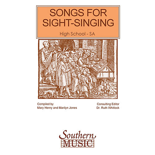 Southern Songs for Sight Singing - Volume 1 (High School Edition SSA Book) SSA Arranged by Mary Henry thumbnail