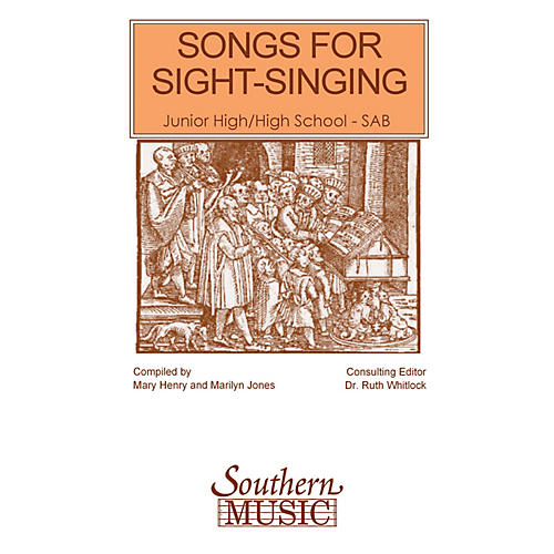 Southern Songs for Sight Singing - Volume 1 (Junior High/High School Edition SAB Book) SAB Arranged by Mary Henry thumbnail
