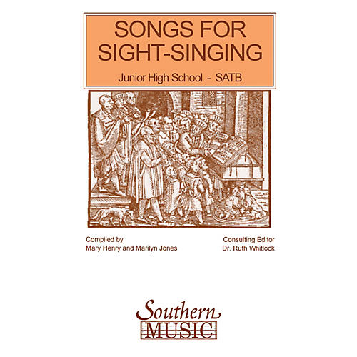 Southern Songs for Sight Singing - Volume 1 (Junior High School Edition SATB Book) SATB Arranged by Mary Henry thumbnail